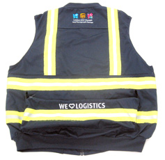 back view of deluxe maintenance vest