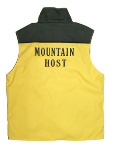 maintenance vest, back view
