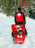 ski patrol clothing and supplies